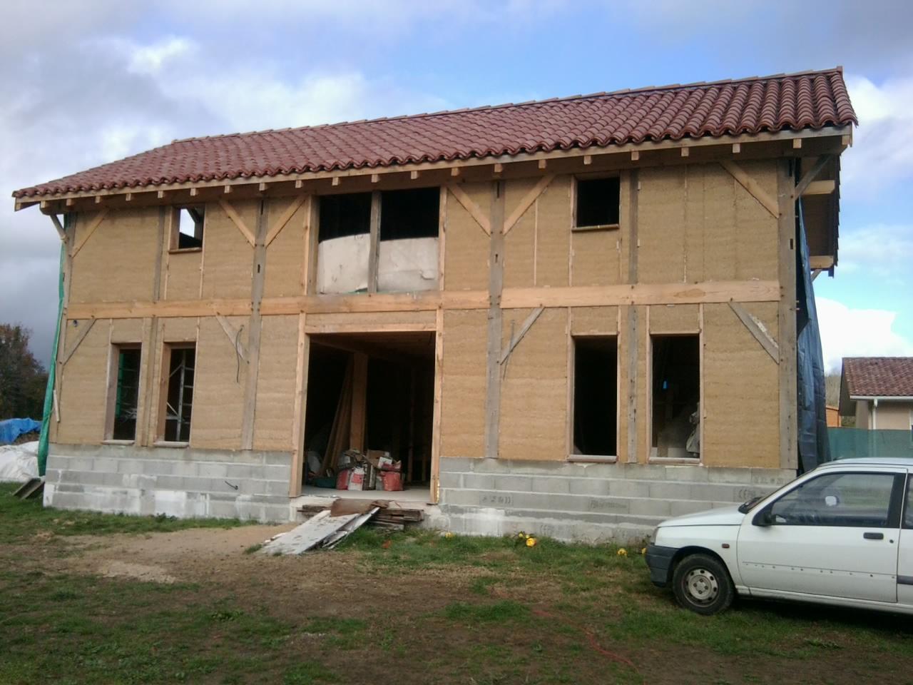 Chanvre mellois auto construction landaise for Auto construction maison